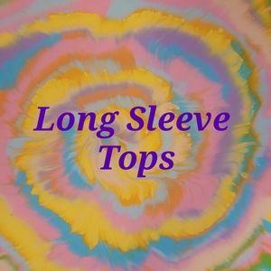 Long sleeve tops!